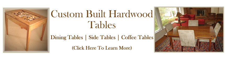 Custom Hardwood Tables